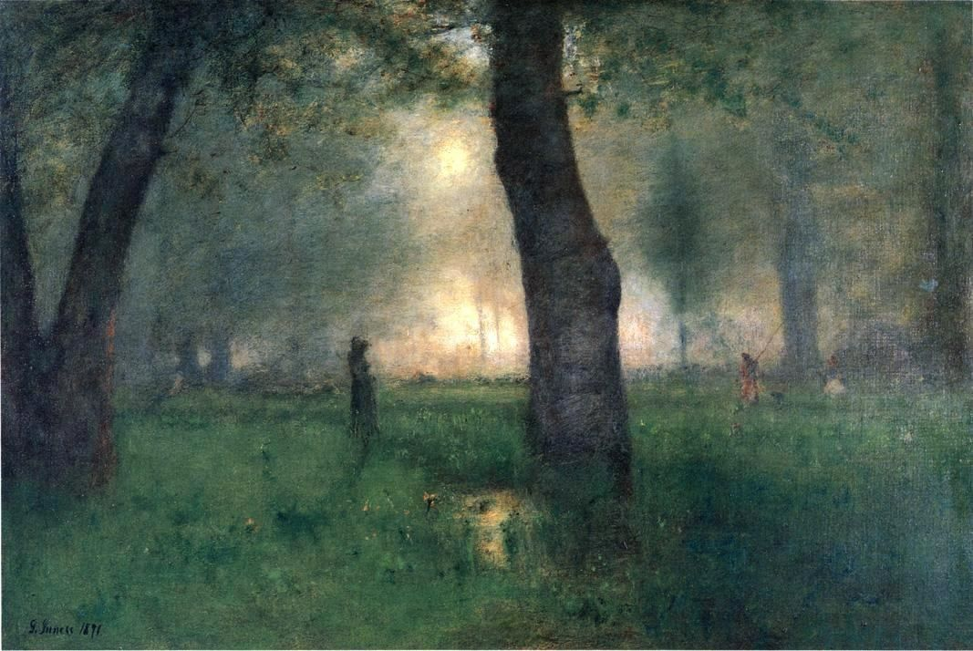 George Inness The Trout Brook
