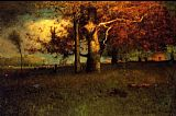 George Inness Early Autumn Montclair painting