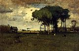 George Inness Georgia Pines Afternoon painting