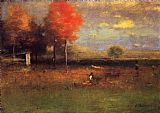 George Inness Indian Summer painting