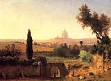 George Inness Rome painting