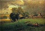 George Inness The Storm painting