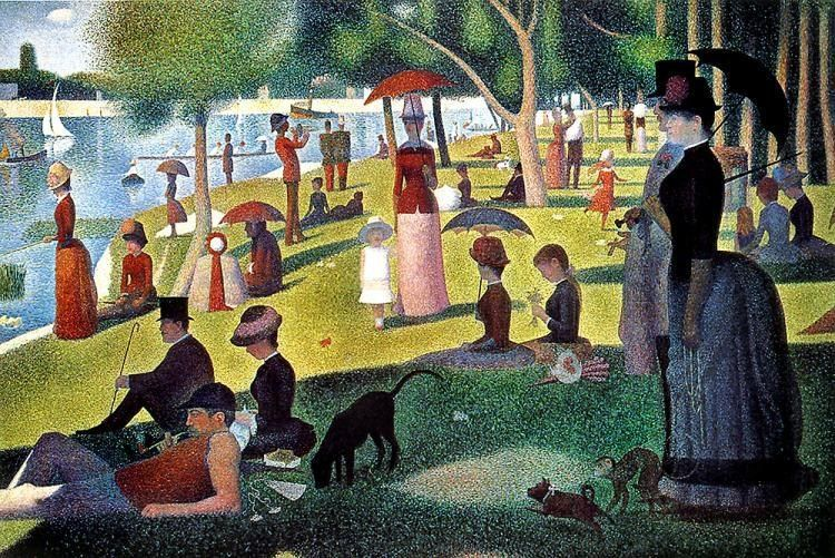 Georges Seurat Sunday Afternoon on the Island of la Grande Jatte