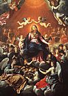 Church paintings - The Coronation of the Virgin by Guido Reni