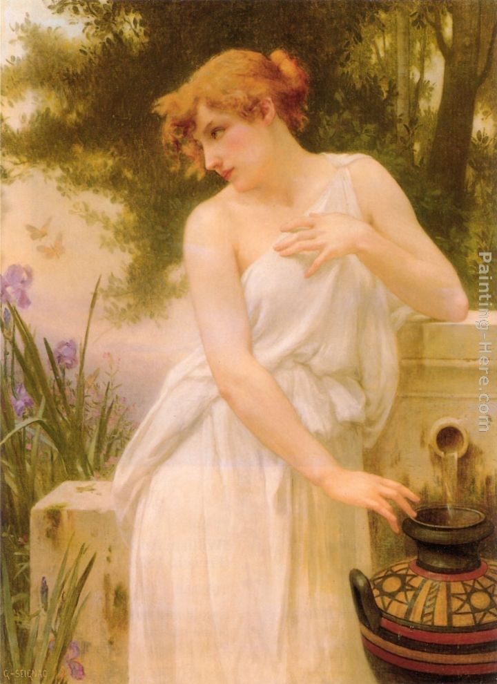 Guillaume Seignac Beauty At The Well