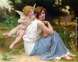 Guillaume Seignac Cupid and Psyche painting
