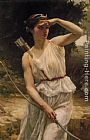 Guillaume Seignac Diana Hunting painting