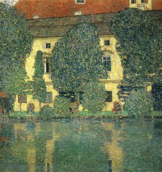 Gustav Klimt Schloss Kammer on the Attersee