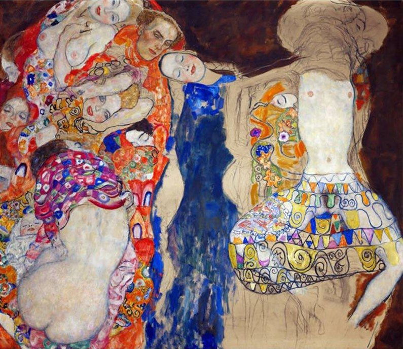 Gustav Klimt The Bride