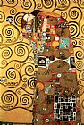 Gustav Klimt Fulfillment,Stoclet Frieze I painting