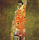 Gustav Klimt Hope painting