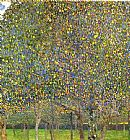 Gustav Klimt Pear Tree painting