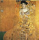 Gustav Klimt Portrait of Adele Bloch-Bauer I painting