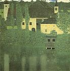 Gustav Klimt Schloss Unterach on the Attersee painting