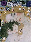 Gustav Klimt Three Ages of Woman - Mother and Child (detail III) painting