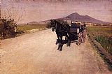Gustave Caillebotte A Road Near Naples painting