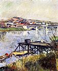Gustave Caillebotte The Argenteuil Bridge painting