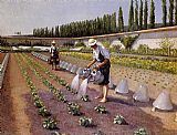 Gustave Caillebotte The Gardeners painting