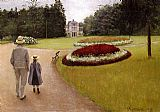 Gustave Caillebotte The Park on the Caillebotte Property at Yerres painting