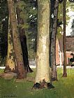 Gustave Caillebotte Yerres, Through the Grove, the Ornamental Farm painting