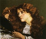 Gustave Courbet Portrait of Jo the Beautiful Irish Woman painting
