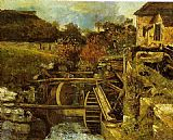 Gustave Courbet The Ornans Paper Mill painting