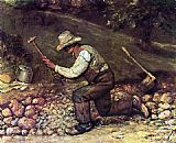 Gustave Courbet The Stone Breaker painting