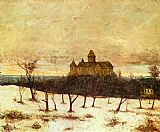 Gustave Courbet View of Neuenburger painting