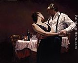 Dancer paintings - When We Were Young by Hamish Blakely