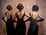 Hamish Blakely three graces painting
