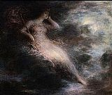 Henri Fantin-Latour Queen of the Night painting