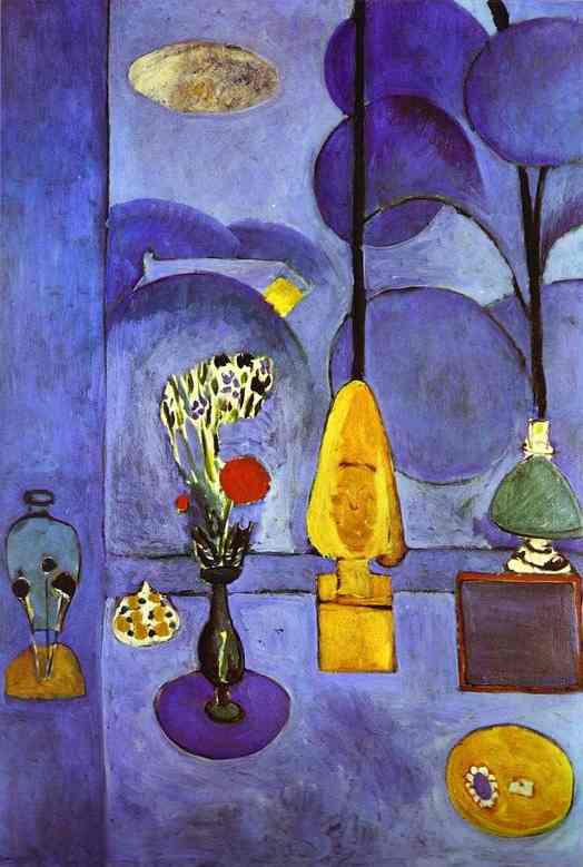 Henri Matisse The Blue Window
