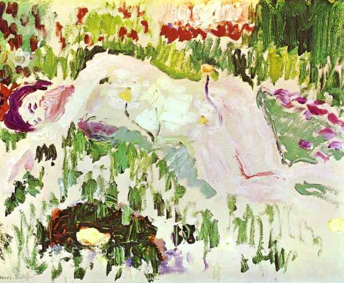 Henri Matisse The Lying Nude