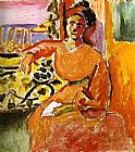 Henri Matisse A Woman Sitting before the Window painting