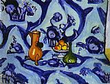Henri Matisse Blue Table-Cloth painting