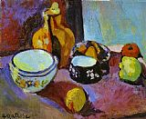 Henri Matisse Dishes and Fruit painting