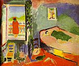 Henri Matisse Interior at Collioure painting