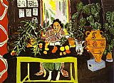 Henri Matisse Interior with Etruscan Vase painting