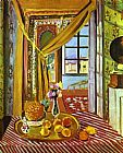Henri Matisse Interior with Phonograph painting
