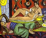 Henri Matisse Odalisques painting