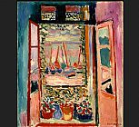 Henri Matisse Open Window Collioure painting