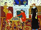 Henri Matisse The Painter's Family painting