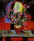 Henri Matisse Vase of Irises painting