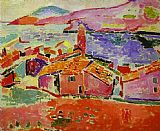 Henri Matisse View of Collioure 2 painting