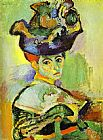 Henri Matisse Woman with a Hat painting