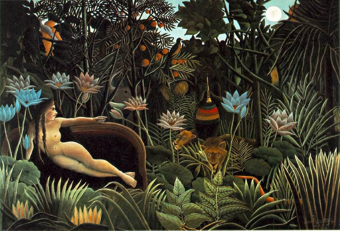 Henri Rousseau The Dream