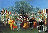 Henri Rousseau A Centennial of Independence painting