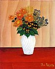Henri Rousseau Bouquet of Flowers painting