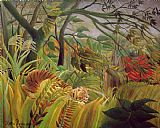 Henri Rousseau Surprise painting