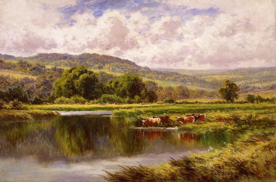 Henry H. Parker The River Mole, Dorking Surrey